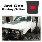 Toyota Pickup 3rd Gen Hood Blackout