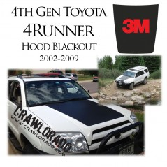 Toyota 4Runner 4th Gen Hood Blackout