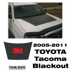 Toyota Tacoma 2005-2011 Hood Blackout