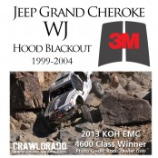 Jeep Grand Cherokee WJ Hood Blackout