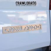Crawlorado Metal Emblem