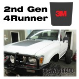 Toyota 4Runner 2nd Gen Hood Blackout