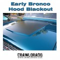 Ford Bronco Hood Blackout