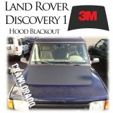 Land Rover Discover 1 Hood Blackout