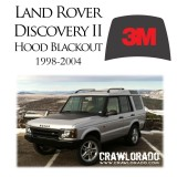 Land Rover Discover 2 Hood Blackout