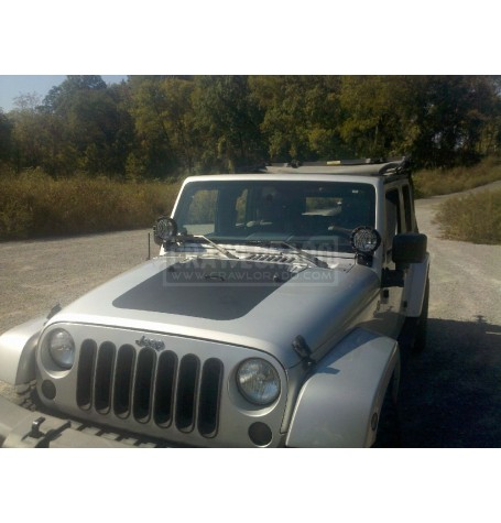 Jeep JK Hood Blackout