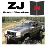Jeep Grand Cherokee ZJ Hood Blackout