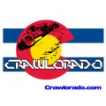 Crawlorado Color Flag Decal