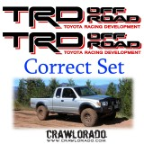 TRD Decal