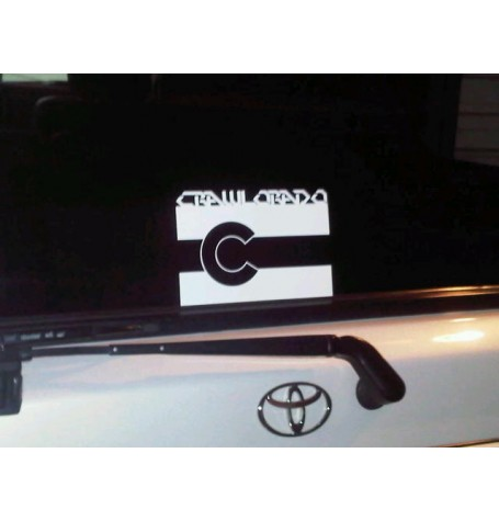 Crawlorado Flag Decal